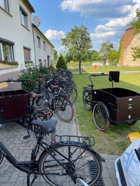 Bike Stadl E-Bike Fahrradvermietung Lausitzer Seenland Senftenberger See Dorfplatz 40