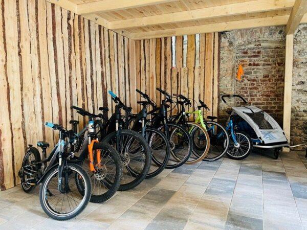 Bike Stadl Fahrradvermietung Lausitzer Seenland Senftenberger See