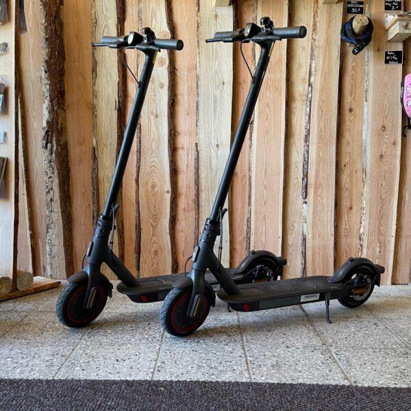 Bike Stadl E-Scooter Mi Pro 2 Senftenberger See Vermietung Fahrräder Lausitzer Seenland Großkoschen