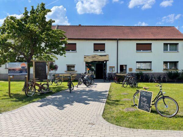 Bike Stadl Fahrradvermietung Senftenberger See Großkoschen Lausitzer Seenland