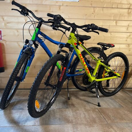 Mountainbikes in 24 und 26 Zoll