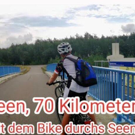 VIDEO – 70km Radtour im Lausitzer Seenland